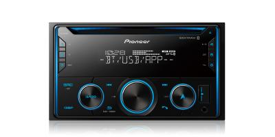 Pioneer Double DIN CD Receiver with Improved Pioneer Smart Sync App Compatibility - FH-S520BT