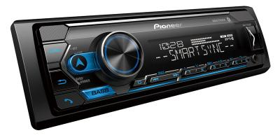 Pioneer Digital Media Receiver with Smart Sync App Compatibility - MVH-S322BT