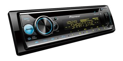 Pioneer CD Receiver with Pioneer Smart Sync App Compatibility - DEH-S5120BT